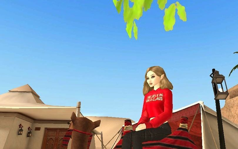 Magic! Turn off the winter and turn on the summer! My camel safari #avakin #game …
