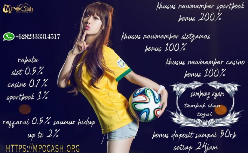 YUK GABUNG IN MPOCASH Enough 1 ID for all games  MPOCASH Hot PROMO: -Bon …