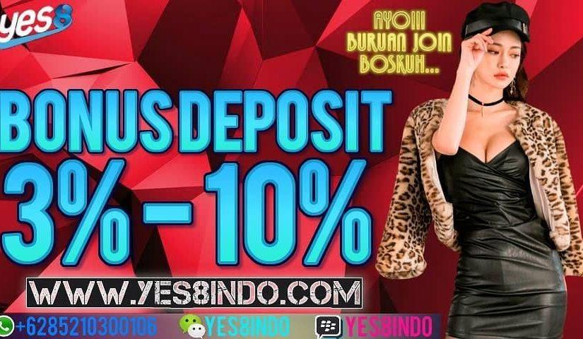 Promotional Bonus Each deposit up to 10% !! * Applies to casino games, …