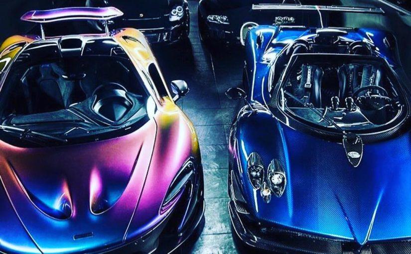 High Roller Exotics garage …
