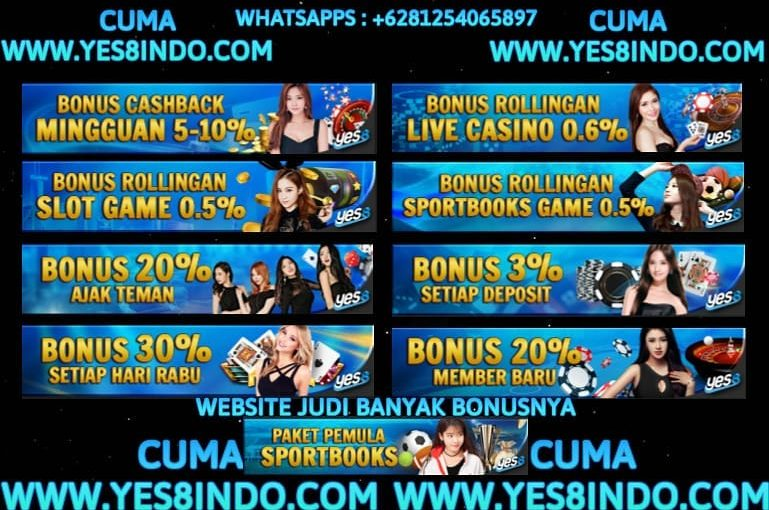 Play online gambling that is convenient and trusted lots of bonuses only at Yes8indo …