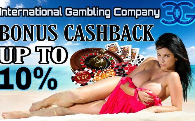 Missing playing online gambling ?? Don't be afraid, we offer Cashback bonus promotions !! …