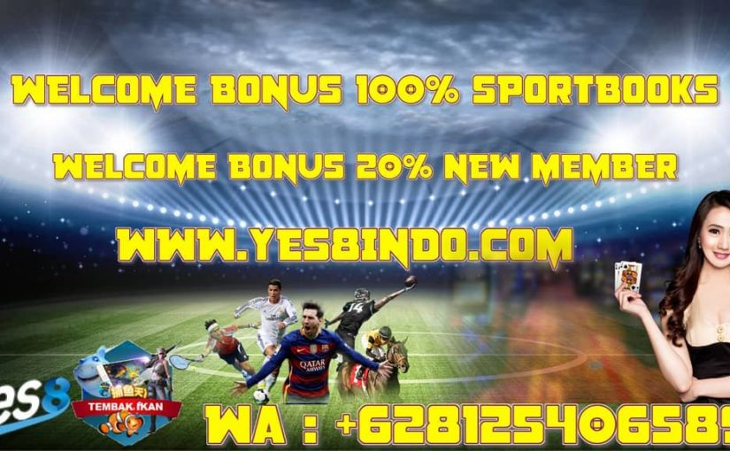 THE NEW MEMBER 100% SPORT BOOKS NOW 20%  ONLY ON YES8INDO BOSSQUE !! Our chat …