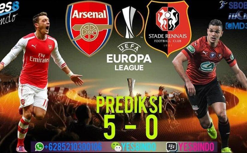 "Forecast of the Yes8indo analysis team ""EUROPE LEAGUE"" LEG 2 AGGREGATE 1 – 3 ARSENAL USA …"