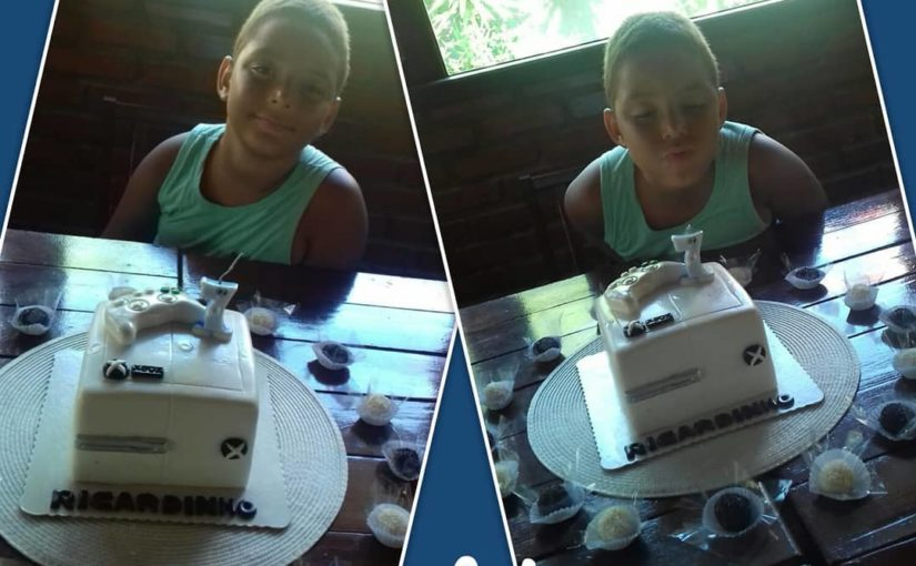 And when did you get this happy face with your cake? People without words. Thank you
