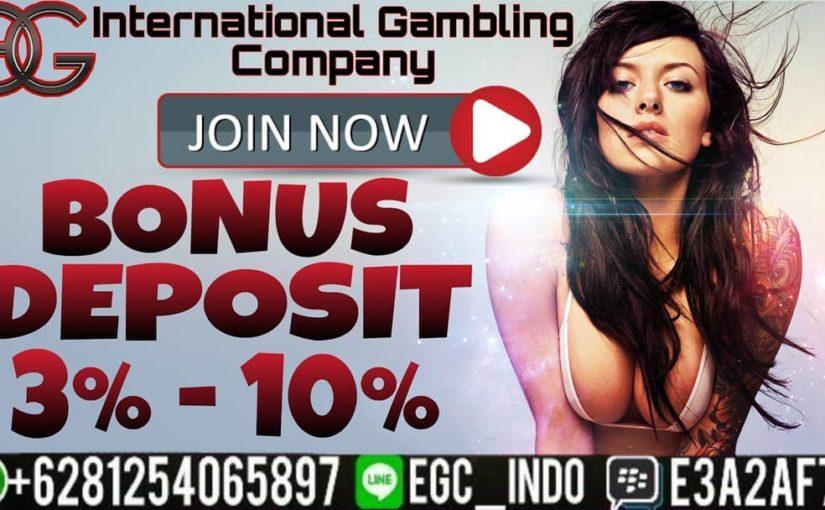 Bonus promotion for every 3% deposit – 10% !! * Applies to Casino Games, Ca …